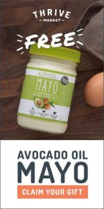 Thrive Market Free Avocado Oil Mayo
