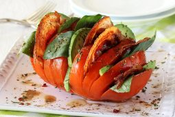 how to make a hassleback tomato paleo style
