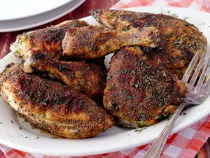 herb and spice baked paleo chicken recipe