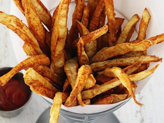 Crispy Paleo Sweet Potato Fries