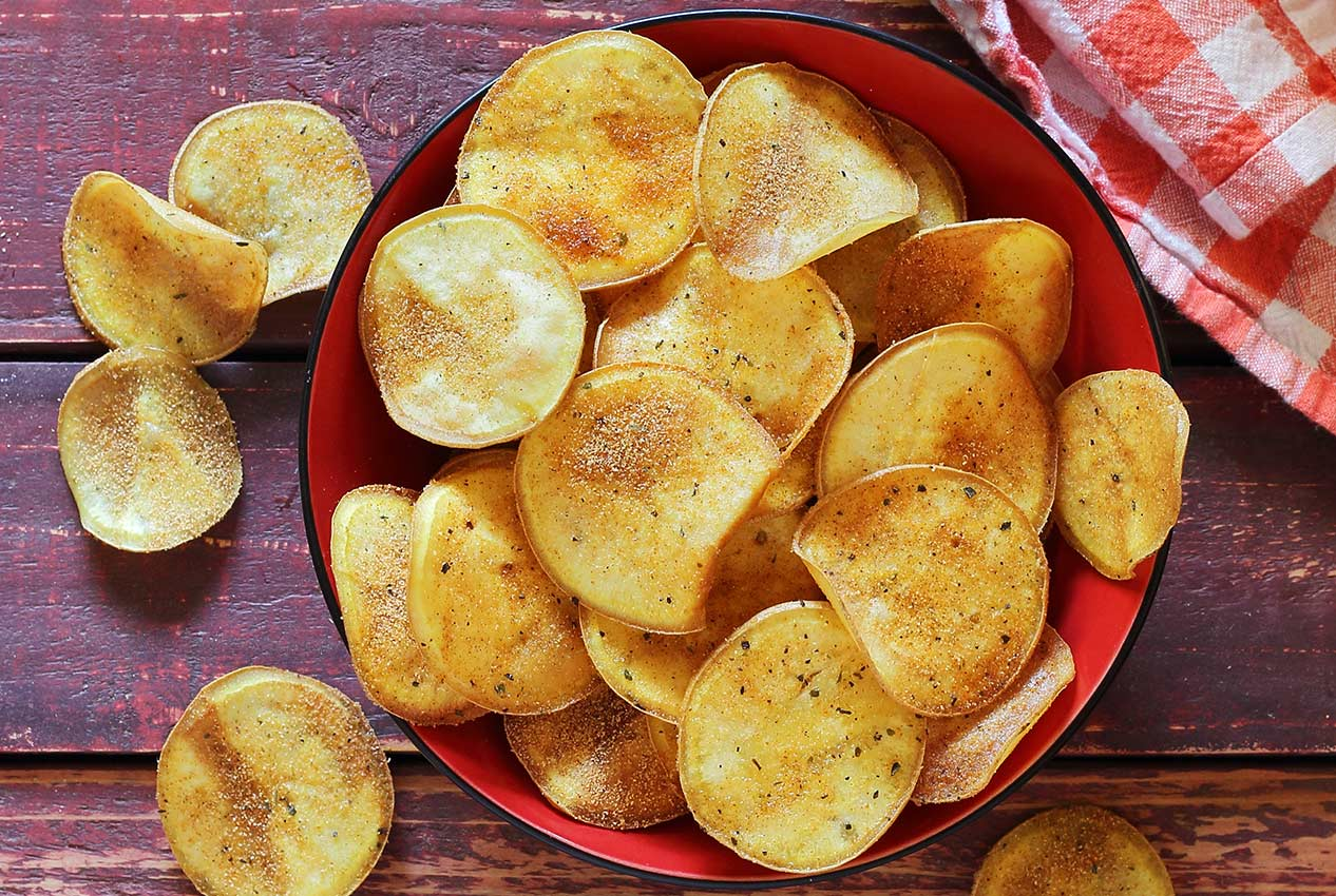 do it yourself sweet potato chips recipe