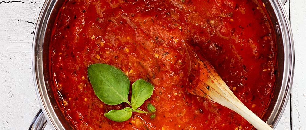 fresh herb marinara sauce - paleo recipe