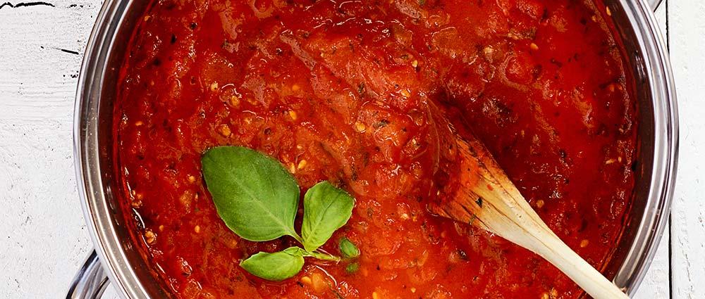 fresh herb marinara sauce - paleo recipe