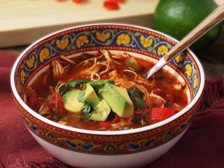 Paleo Crock Pot Chicken Fajita Soup Recipe