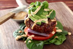 Easy paleo southwest sliders with a little kick from the chipotle sauce