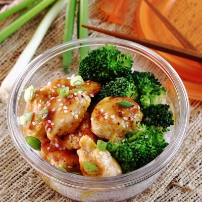 orange chicken bowl for weight loss