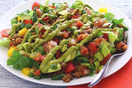 Easy paleo taco salad recipe