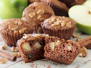 Chunky Apple Spice Paleo & Gluten-Free Muffins