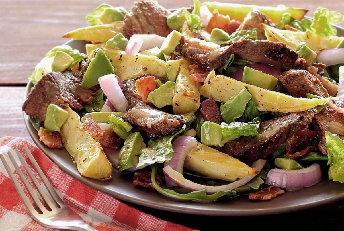 paleo steak and potato salad recipe