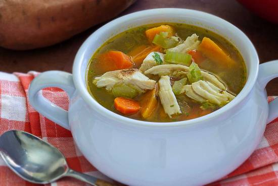 simple paleo recipe to turn leftover turkey into a tasty soup
