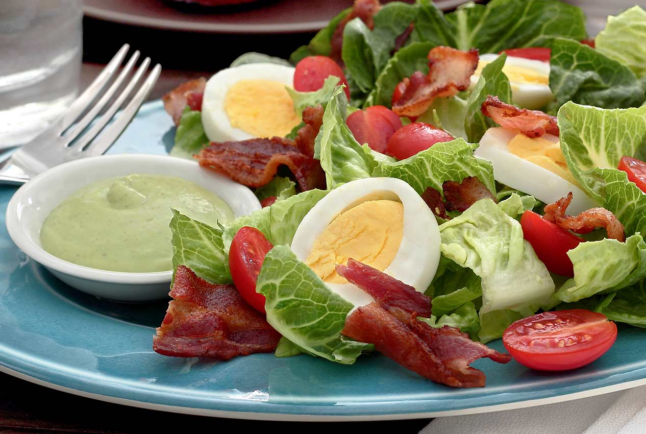 easy paleo and gluten-free recipe for a tangy avocado dressing
