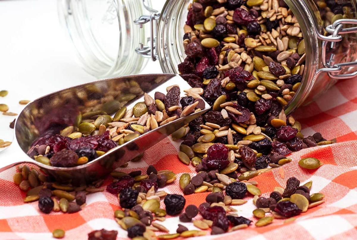 no nuts gluten-free trail mix