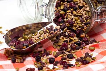 no nuts gluten-free trail mix