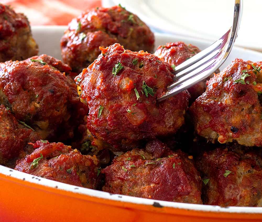 slow-cooker or crockpot paleo pork meatballs in chipotle sauce recipe