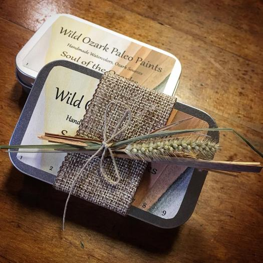 Wild Ozark Paleo Paints, Soul of the Ozarks Collection No. 3