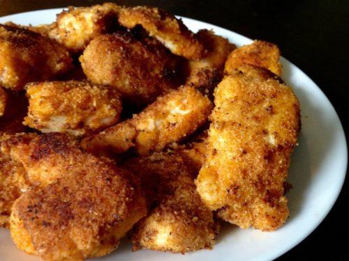 crispy paleo chicken nuggets
