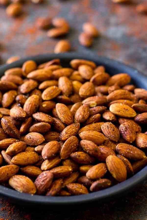 Easy Chipotle Roasted Almonds Paleo Vegan Paleo