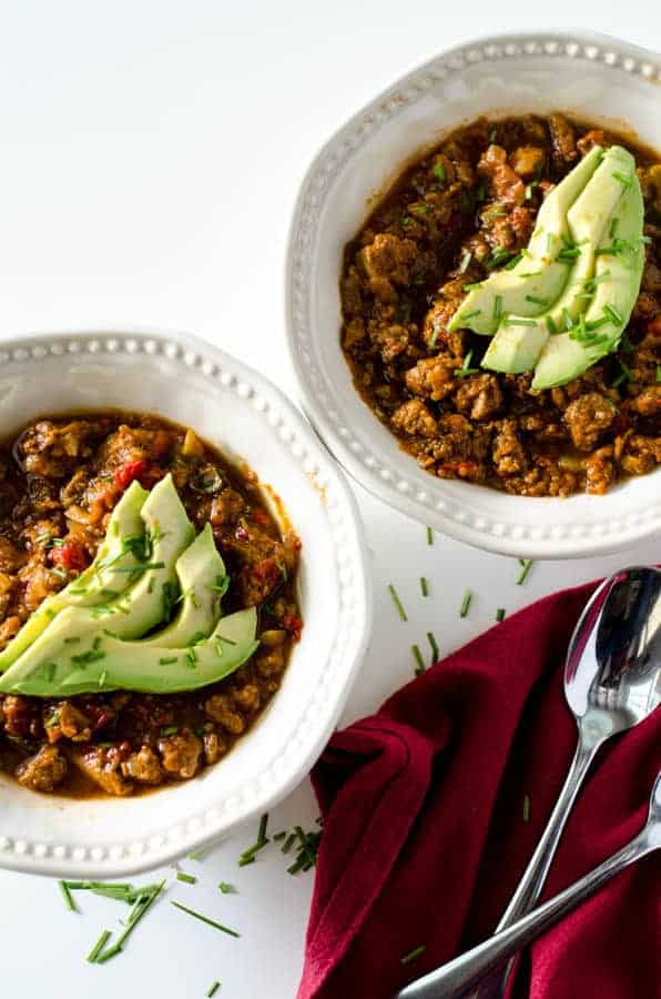 Pumpkin Turkey Chili | PaleoScaleo.com