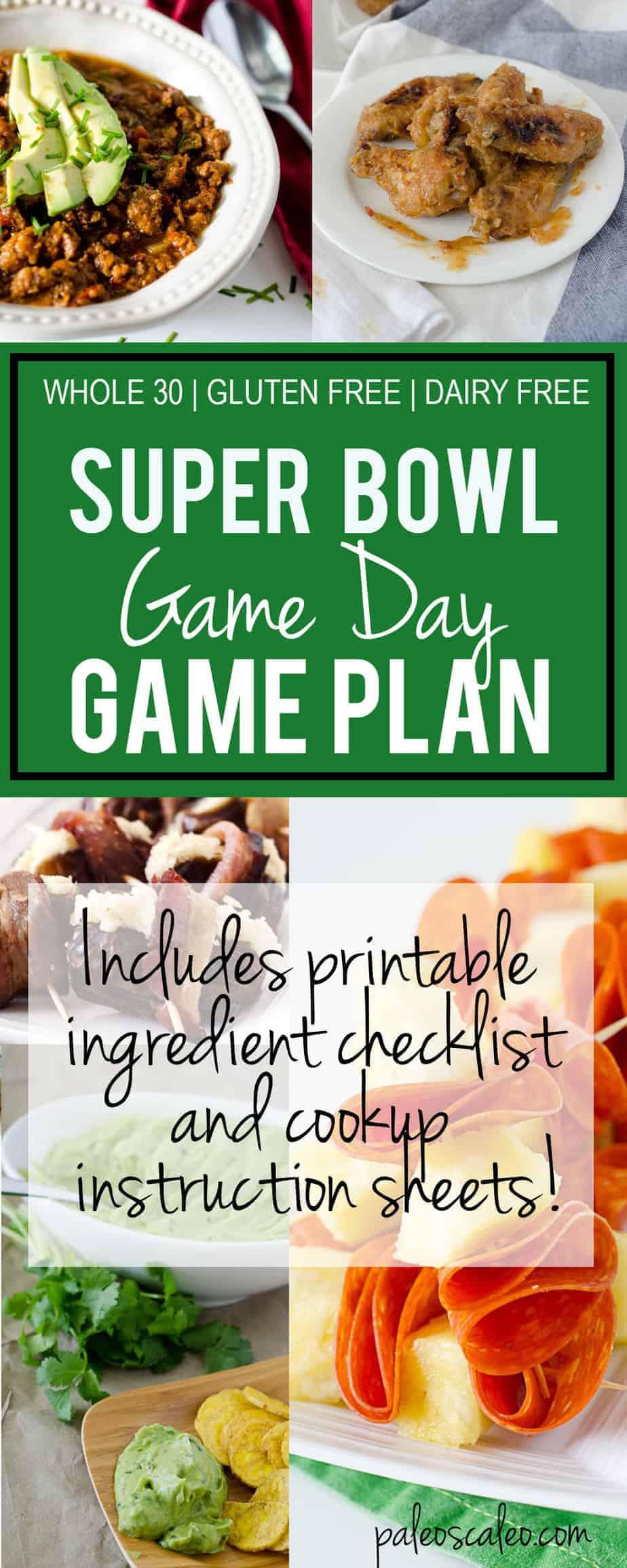 Super Bowl Game Day Game Plan | PaleoScaleo.com