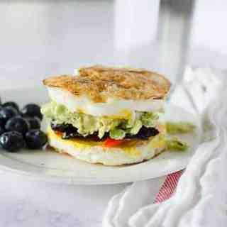 """""""Egg-wich"""" Breakfast Sandwich"""