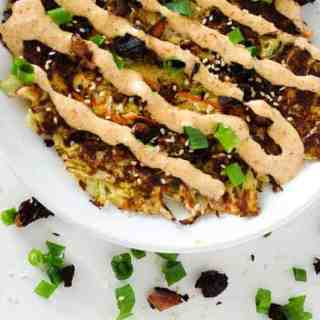 Okonomiyaki (Japanese Cabbage Pancake)