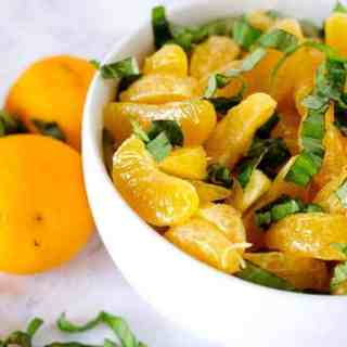 Orange Basil Salad