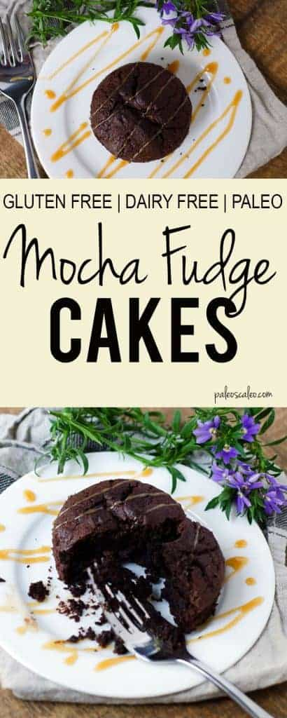 t Paleo Mocha Fudge Cakes | PaleoScaleo.com