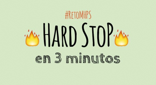 Reto Mammoth Hunters, Hard Stop en 3 minutos