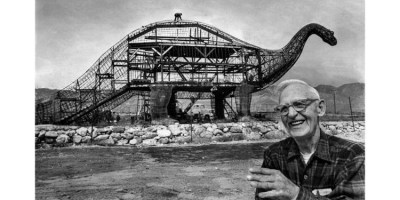 On the News | USA | From the Archives: The Cabazon dinosaur builder @ Los Angeles Times