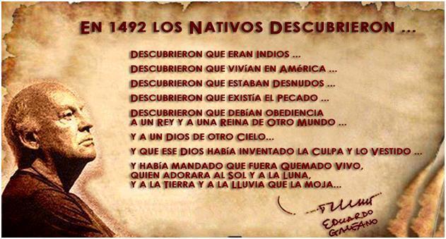 12 de Octubre por Eduardo Galeano