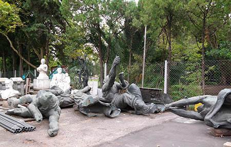 Figuras Plaza Colombia - MOA