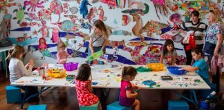Espacio para la infancia en el CCK
