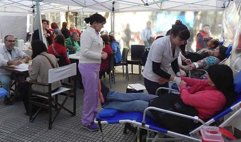 Campaña de donación de sangre por el Día Mundial de la Hemofilia
