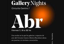 Viernes 7/4 Gallery nights Circuito Retiro-Recoleta