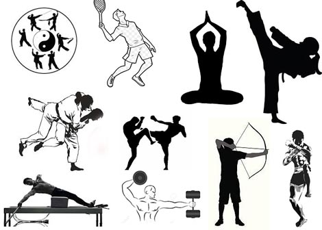 Artes Marciales - Gimnasios - Pilates - Tai Chi Chuan - Tenis - Tiro con Arco y Flecha - Yoga