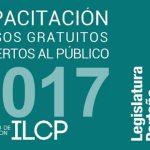 Oferta del ILCP de capacitación gratuita y abierta al público - Cursos 2017