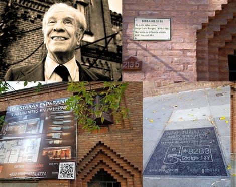Van a demoler la casa de la niñez de Borges en Palermo