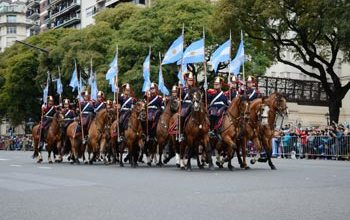 El sábado desde las 11 habrá desfile militar en Palermo