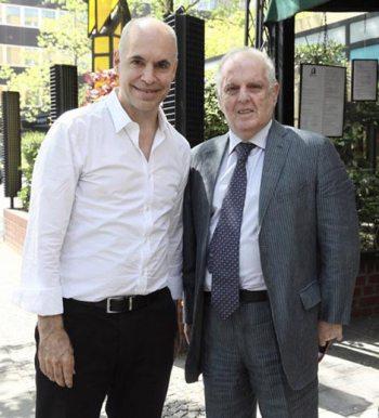 Encuentro entre el jefe de gobierno y Daniel Barenboim en Berlín