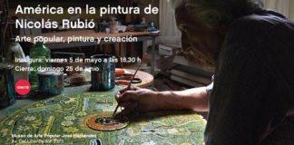 América en la pintura de Nicolás Rubió en el Museo Hernández