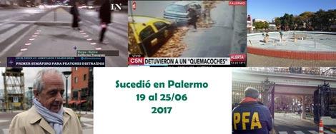 Sucedió en Palermo durante la semana del 19 hasta el 25 de junio de 2017