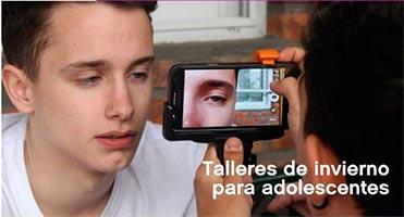 Durante las vacaciones de invierno, los chicos y chicas de 12 a 17 años de la Ciudad podrán participar de talleres audiovisuales gratuitos.