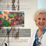 Inauguración de un mural en el Patio Paraguay