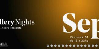 Viernes 1/9 Gallery Nights Retiro/Recoleta