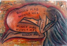 Arte correo contra la violencia hacia las mujeres y las niñas