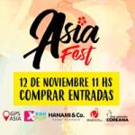 Buenos Aires Asia Fest el 12 de noviembre en Salguero Plaza