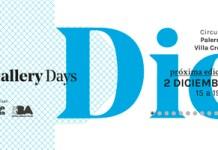 Sábado 2/12 Último Gallery Day del año - Palermo y Villa Crespo