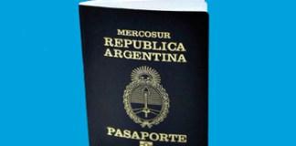 Aumentó el pasaporte: pasó a valer de 550 a 950 pesos