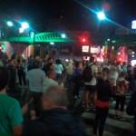 Cacerolazos en Palermo mientras se trataba la Reforma Previsional