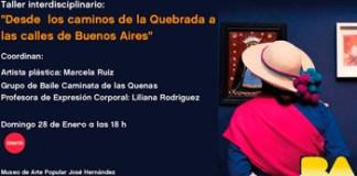 """Cierre de la exposición """"Los Santitos de la Quebrada"""" en el Museo José Hernández"""